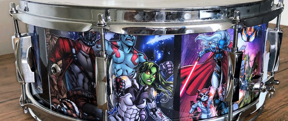 Guardians of he Galaxy Drum Wrap