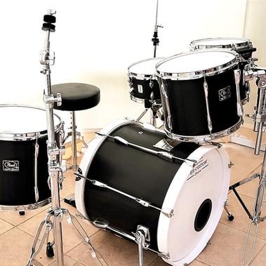 Carbon Fibre Drum Wrap