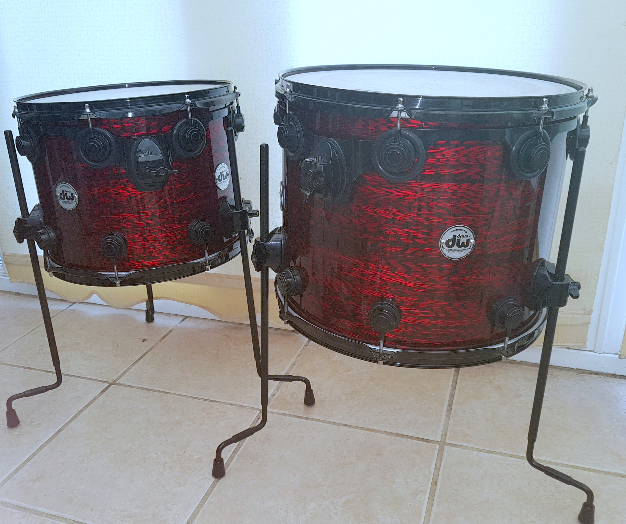 DW Drums Redrilled