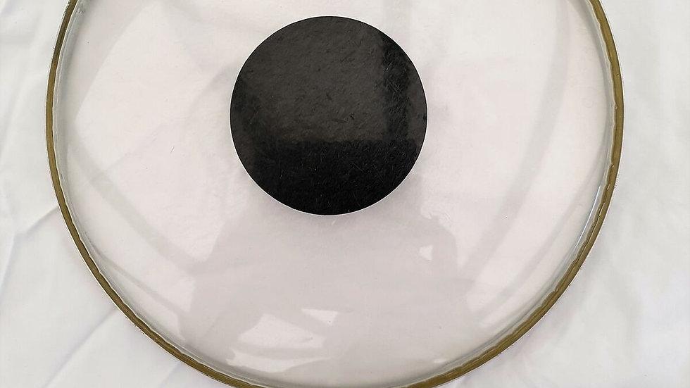 "10"" Remo Weatherking C S Batter Head Black Dot"