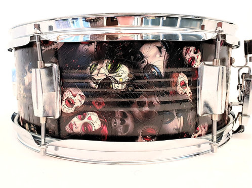 Hydro Dipped Custom Finished Snare Drum