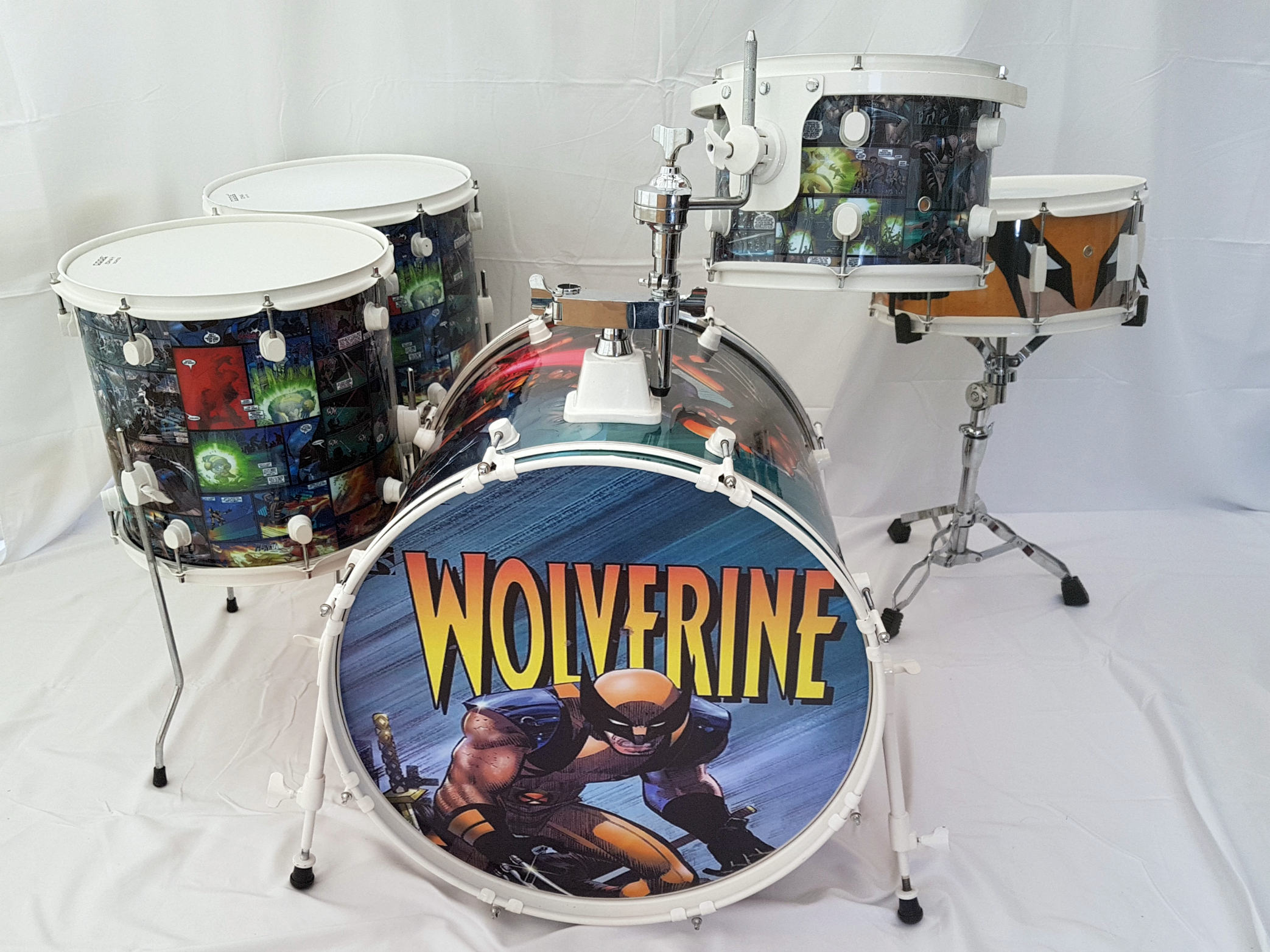 Wolverine Comic Kit