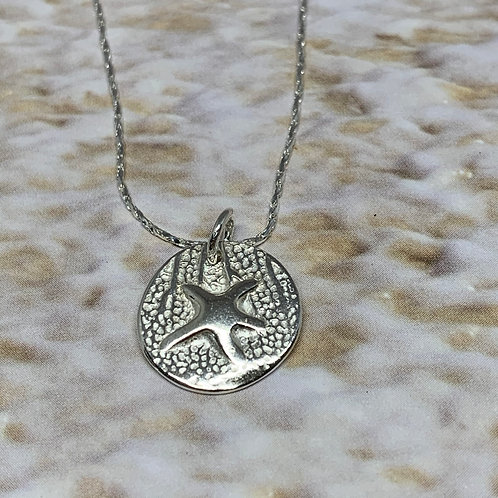 Sterling Silver, necklace, pendant, jewelry, woven silver, set, gift for her, gi