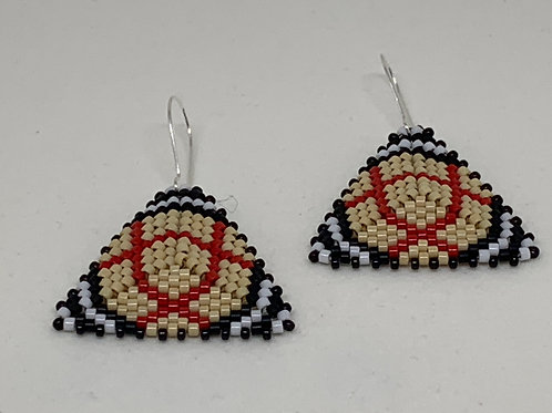 Burberry Inspired Style Spiral Earrings