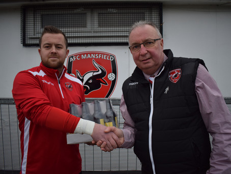 Bowland Brewery Player-of-the-Month awards for Crosby and Iaciofano