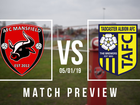 PREVIEW | Tadcaster Albion (H)