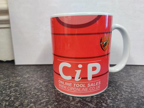 AFC Mansfield Mug C.I.P home shirt design