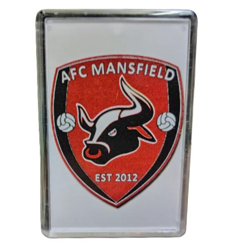 AFC Mansfield fridge magnet