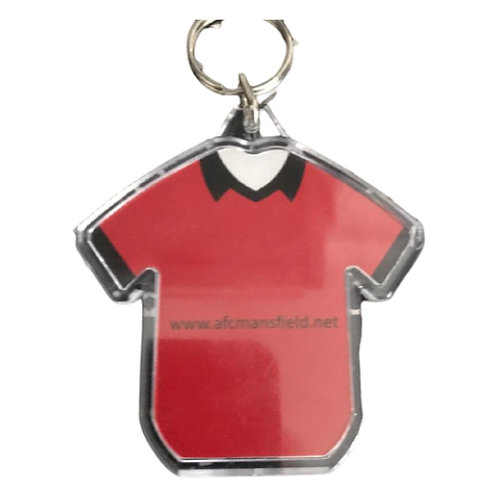 AFC Mansfield official key rings