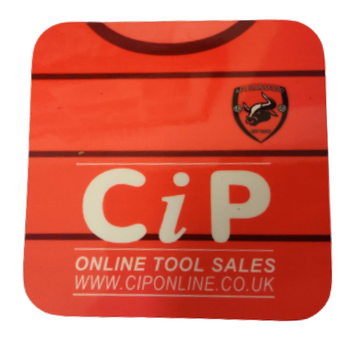 AFC Mansfield Coaster C.I.P home shirt design
