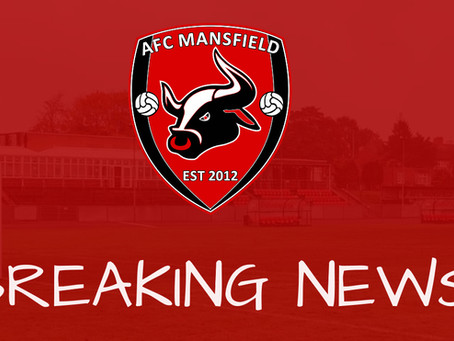 AFC Mansfield are DELIGHTED to announce the resumption of the NCEL.