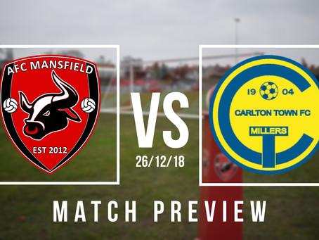 PREVIEW | Carlton Town (H)