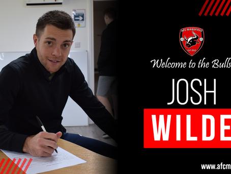 Josh Wilde is a Bull