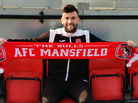 AFC Mansfield appoint club captain Phil Buxton as Manager.