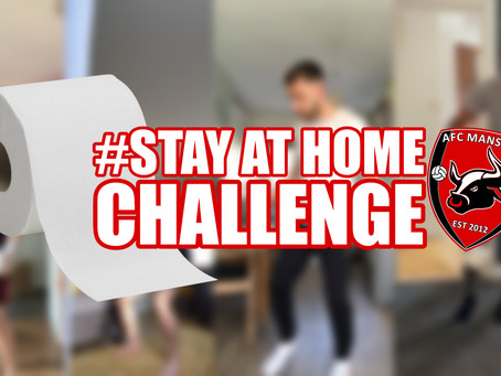 Bulls players take on the Stay At Home Challenge
