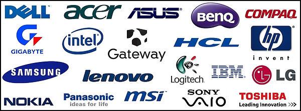 Computer Repair NJ brand logos