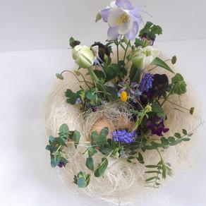OSTERNEST 復活祭の鳥の巣