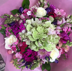 Pink Bouquet by Busy Bee