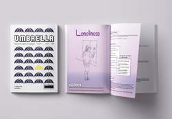 Mock-up of a magazine aimed at young people