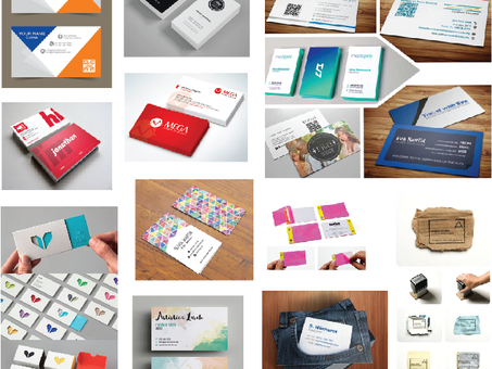 Designing a business card