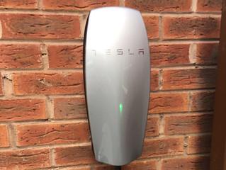 Tesla Electric Car Charging Port Installation, London, NW8