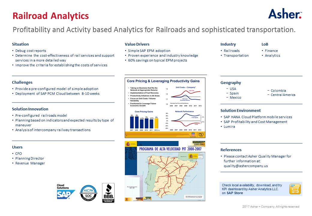Railroad Analytics
