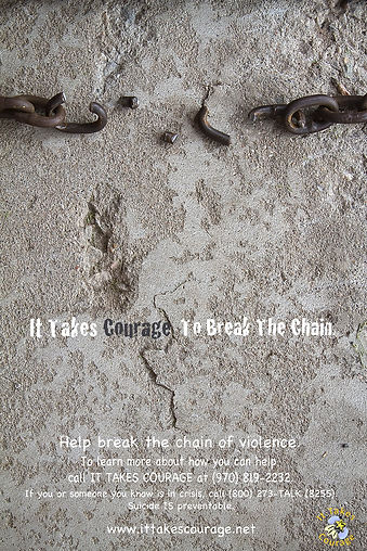 It Takes Courage to Break the Chain