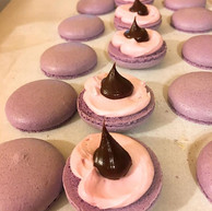 Yummy Lavender and Chocolate Ganache