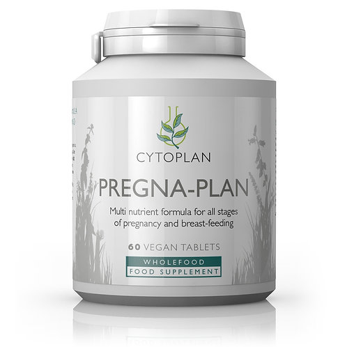 Pregna-Plan Multi nutrient formula for all stages of pregnancy & breast feeding