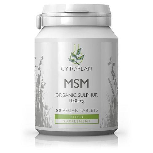 MSM - Organic Sulphur - 180 Capsules