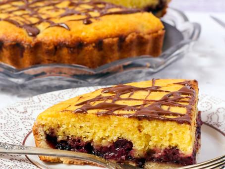 Orange & Chocolate Bakewell Tart