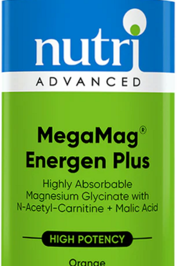 NutriAdvanced MegaMag Energen Plus Orange