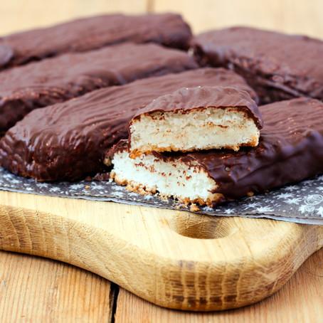Dark Chocolate Coconut Bars