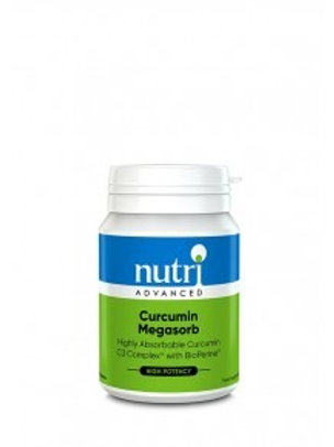 NutriAdvanced Curcumin Megasorb 60 Tablets
