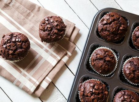 Chocolate Muffins - Low Carb, Sugar Free, Grain Free