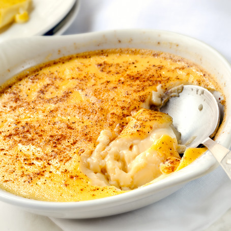 Baked Egg Custard - Low Carb Slow Cooker