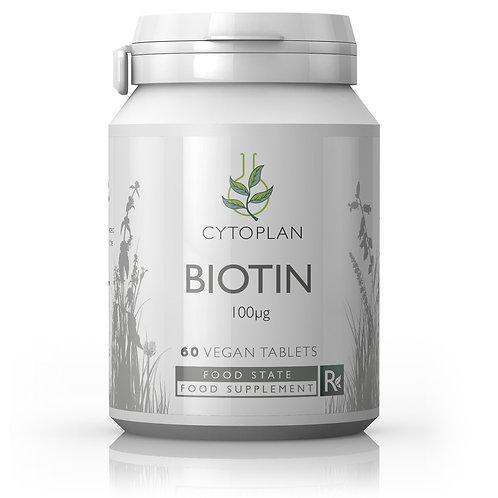 Cytoplan Biotin 60 Tablets