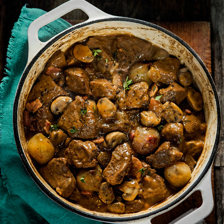 Beef and Horseradish Stew - Slow Cooker Recipe