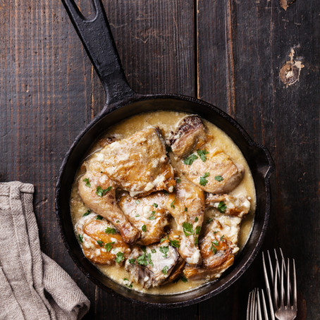 Creamy Bacon & Thyme Chicken