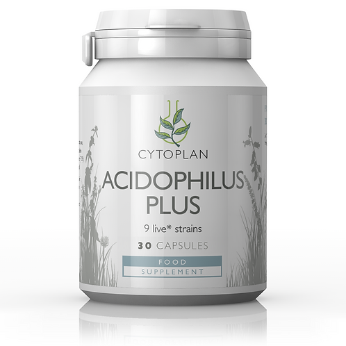 Cytoplan Acidophilus Plus - 30 Capsules