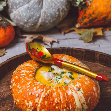 Pumpkin Soup#slowcooker