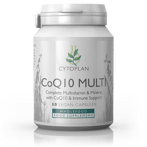 CoQ10 Multi - Complete MultiVitamin & Mineral with CoQ10 & Immune Support
