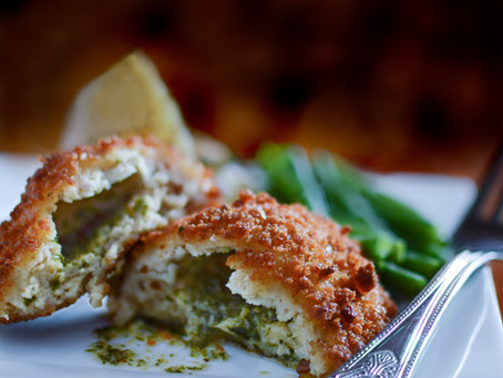 Grain-Free, Low Carb Chicken Kiev