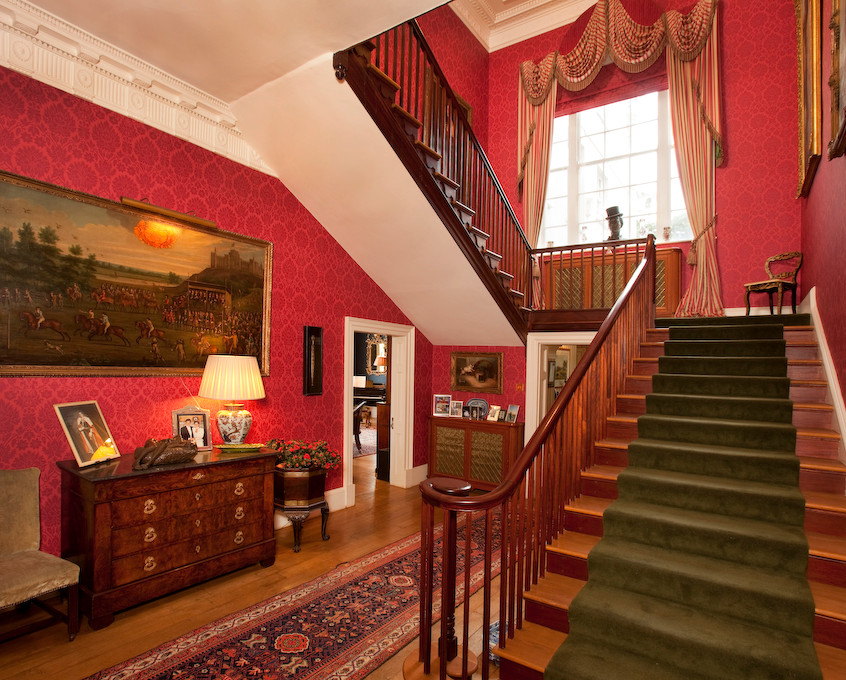 bridwell main hall and staircase