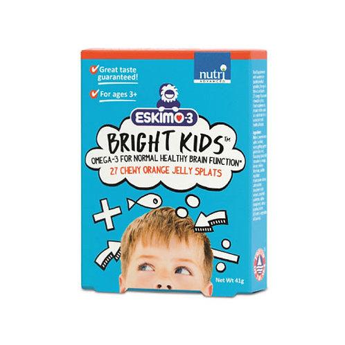 Eskimo®-3 Bright Kids Fish Oil Jelly Splats - 27 Chews