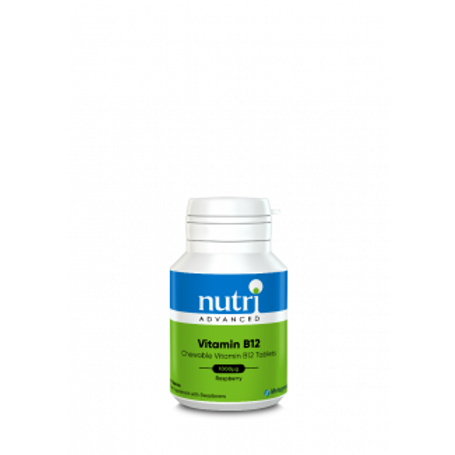 NutriAdvanced Vitamin B12 Chewable 120 Tablets