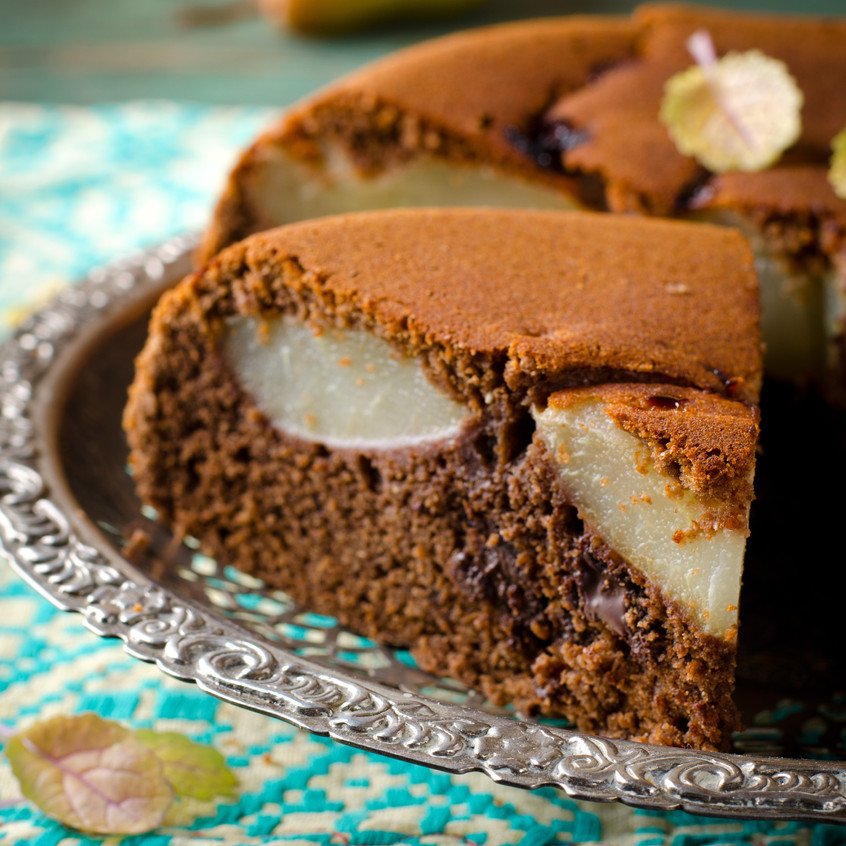 chocolate pear tart slow cooker