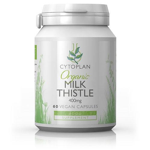 Cytoplan Organic Milk Thistle 60 Capsules