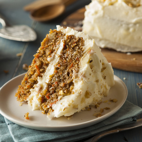 Delicious Low Carb Carrot Cake