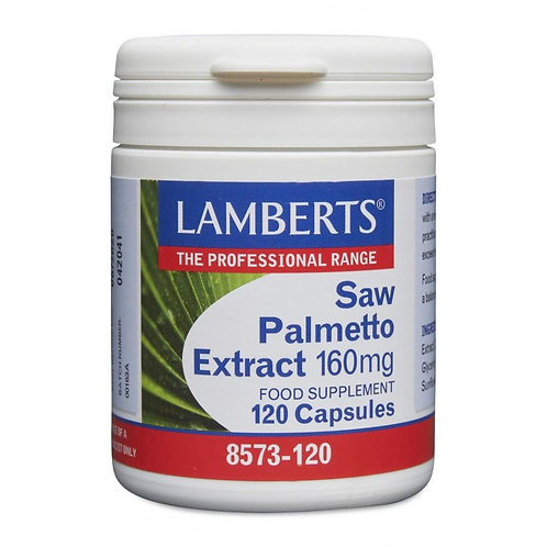 Saw Palmetto Extract 160mg - 120 Capsules